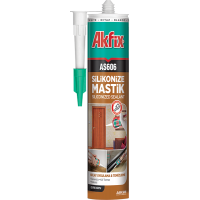Akfix AS606 Silikonize Akrilik Mastik 280ml 24'Lü