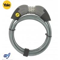 Yale Standart Şifreli Kablolu Motor ve Bisiklet Kilidi - Standart Serisi YCC1/10/185/1