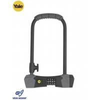 Yale Yüksek Güvenlikli U Bisiklet Kilidi - Gümüş Serisi YCUL2/13/230/1