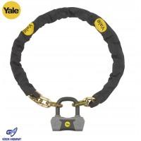 Yale Zincir Asma Kilitli Bisiklet Kilidi - Altın Serisi YCL3/10/110/1