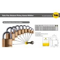 Yale Asma Kilit Pass Sistem 40mm