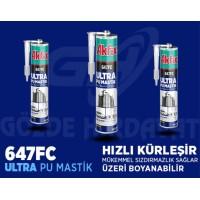 Akfix 647FC Ultra Pu Mastik 280 ML Yapı - İnşaat - Otomotiv (24 ADET)
