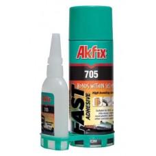 Akfix Hızlı Yapıştırıcı 200 ml + 50 gr