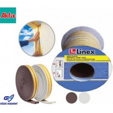 Linex Kauçuk Kapı ve Pencere İzolasyon Bandı/Fitili 50 metre x 2 (100mt)