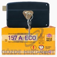 Kale 157A Eco Trajlı Kilit Standart Silindirli (Karşılıksız) 2 Anahtarlı