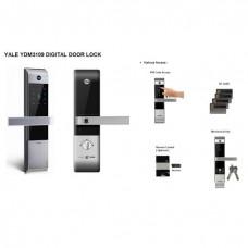 Yale Kartlı ve Şifreli Dijital Gömme Kilit YDM3109