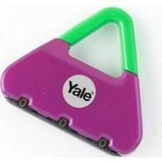 Yale Novelty-1 Pembe Yeşil Şifreli Asma Kilit