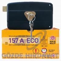 KALE 157A ECO Silindirli Tirajlı Demir Kapı Kilidi Karşılıksız (Koli 20'li)