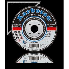 Karbosan Metal Kesme Diski 115 x 1.0 x 22.23 (Koli 300'lü)